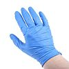 RS PRO Blue Nitrile Disposable Gloves size 8