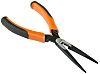 Bahco 200 mm Steel Long Nose Pliers With