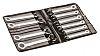 RS PRO Kombinationsschlüsselsatz, C-Stahl, 10-teilig