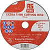 RS PRO Aluminium Oxide Cutting Disc, 75mm x