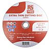 RS PRO Aluminium Oxide Cutting Disc, 230mm x