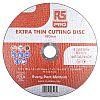 RS PRO Aluminium Oxide Cutting Disc, 178mm x