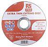RS PRO Aluminium Oxide Cutting Disc, 115mm x