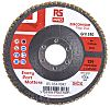 RS PRO Zirconium Dioxide Flap Disc, 115mm, P40