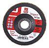 RS PRO Zirconium Dioxide Flap Disc, 125mm, P80