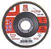 RS PRO Zirconium Dioxide Flap Disc, 115mm, P60 Grit