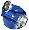 RS PRO PVC Flexible Tube, Blue, 50m Long,