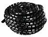 Spiral wrap 40mm x 2.4mm x 50m Black