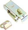 Steel Zinc Plated Toggle Latch,Lockable, Lock not included,