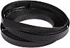 HellermannTyton Expandable Braided PET Black Cable Sleeve, 20mm