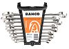 Bahco 9 Piece Stainless Steel Spanner Set