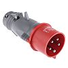 Legrand, HYPRA IP44 Red Cable Mount 3P+N+E Industrial