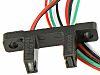 Optek Gabel-Lichtschranke OPB815WZ, Phototransistor Ausgang, Gehäusemontage