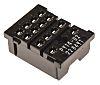 Omron 4 Pin Relay Socket, 250V ac for