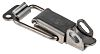 Stainless Steel,Lockable, Lock not included Latch