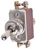 APEM DPST Toggle Switch, Latching, Panel Mount