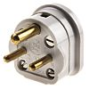 MK Electric UK Mains Connector Type D/M, 2A,