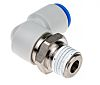 SMC Rotary Adapter, R 1/4 Male, Push In