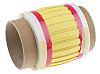 TE Connectivity Hőre zsugorodó kábeljelölő RPS-6-250/2.0-4 Heat Shrink Marker
