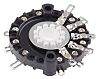 Lorlin, 4 Position 3P4T Rotary Switch Wafer, 1