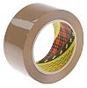 3M Scotch 371 Brown Packing Tape, 100m x