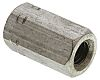 24mm Plain Stainless Steel Coupling Nut, M8, A4