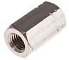 30mm Plain Stainless Steel Coupling Nut, M10, A4