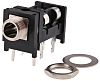 Switchcraft 6.35 mm PCB Mount Stereo Jack Socket,