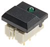 Single Pole Double Throw (SPDT) Black Keyboard Switch,