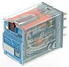 Releco DPDT 24V ac Latching Relay, 5 A Plug In