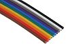 RS PRO 10 Way Unscreened Flat Ribbon Cable,