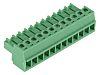 Phoenix Contact MC 1.5/12-ST-3.81 Non-Fused Terminal Block, 12