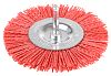 Tivoly Nylon Circular Abrasive Brush, 100mm Diameter