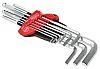 Wiha Tools 9 pieces Hex Key Set, L