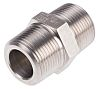 RS PRO Stainless Steel Hexagon Nipple Joint 1in