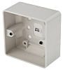 MK Electric Logic Plus White Gloss Urea Formaldehyde/Melamine