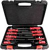 RS PRO Engineers Slotted Flared; Pozidriv Screwdriver Set