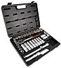 RS PRO 32 Piece Socket Set, 1/2 in Square Drive