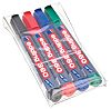 Edding White Board Marker, 4 Assorted