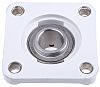 4 Hole Flanged Bearing, PSF25CR, 25mm ID