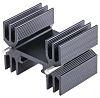 Heatsink, 9°C/W, 25 x 35 x 25mm, Clip