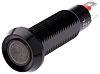 Marl Red Indicator, Solder Tab Termination, 8.1mm Mounting