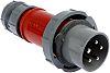 MENNEKES, PowerTOP IP67 Red Cable Mount 3P+N+E Industrial