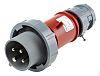 MENNEKES, PowerTOP IP67 Red Cable Mount 4P Industrial
