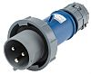 MENNEKES, PowerTOP IP67 Blue Cable Mount 3P Industrial