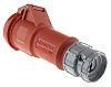 MENNEKES, PowerTOP IP44 Red Cable Mount 4P Industrial