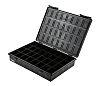 Conductive Velostat ESD Box, 320 x 225 x