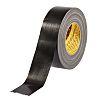 3M Scotch 389 PE Coated Black Duct Tape,