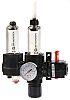 Norgren G 1/4 Filter Regulator Lubricator, Automatic Drain,