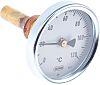 Dial Thermometer, Centigrade Scale, 0 → +120 °C